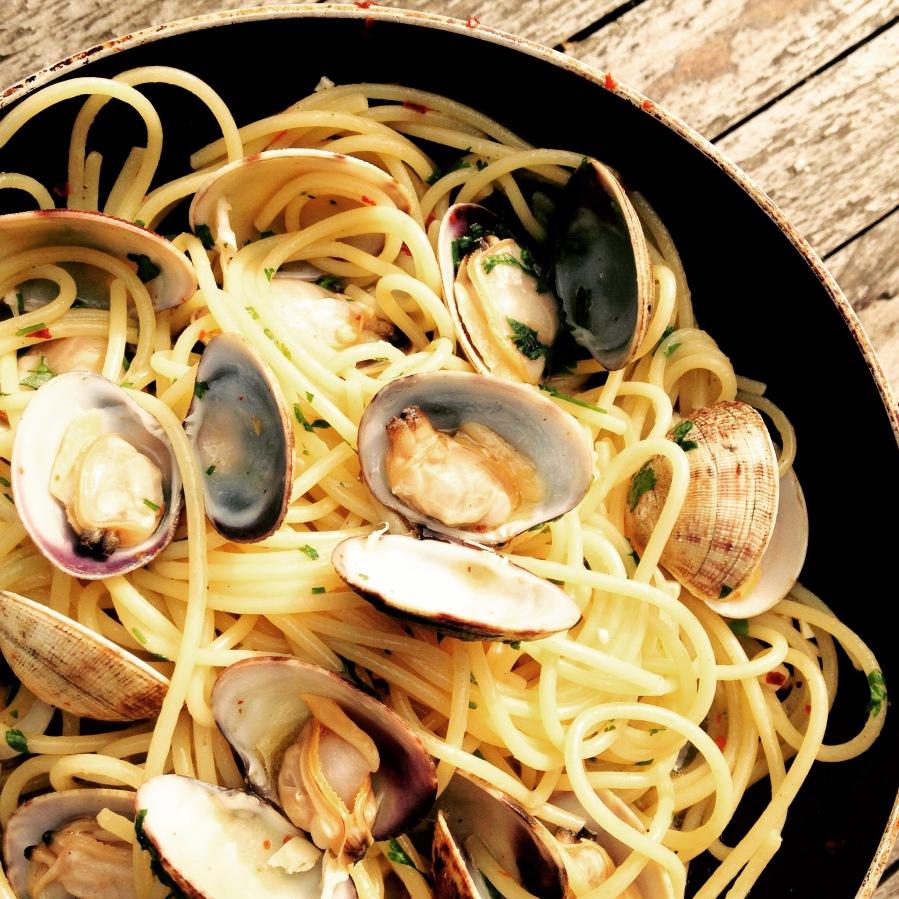Spaghetti con leVongole