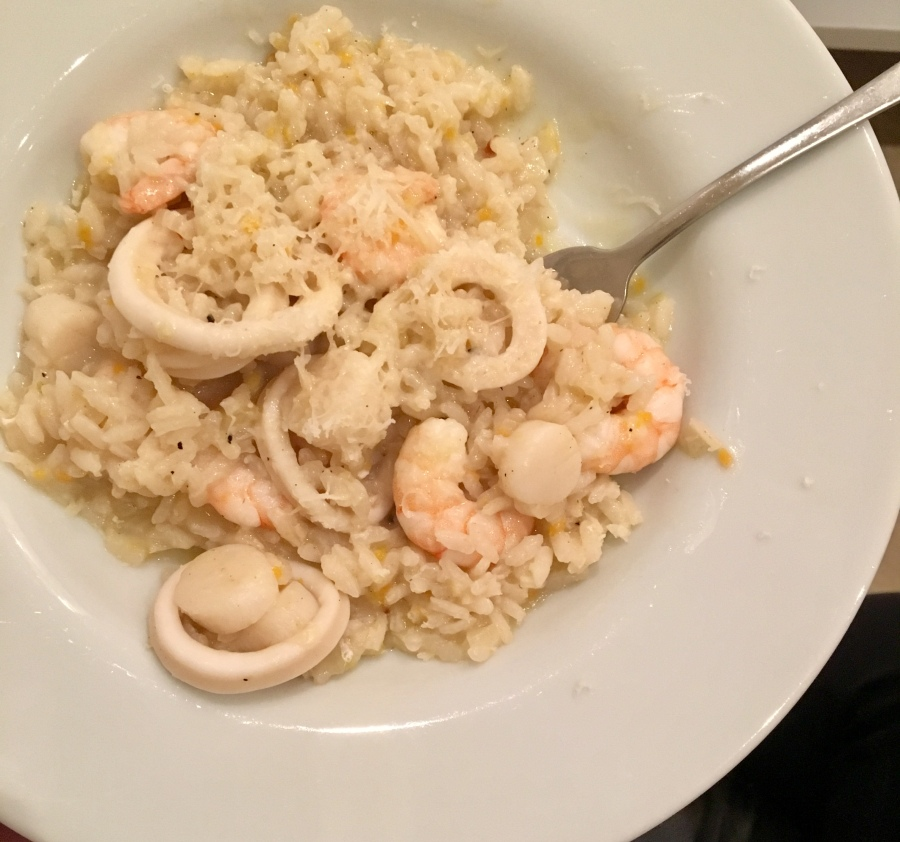 Seafood Risotto, inspired by Venice